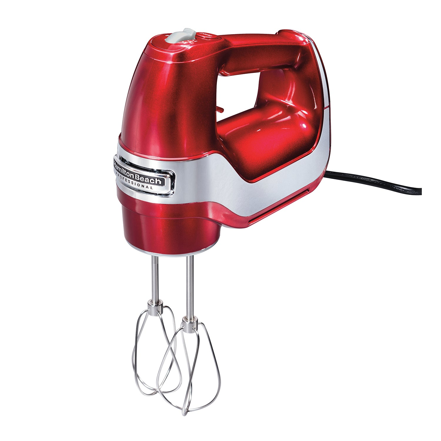 Hamilton Beach® Professional Hand Mixer 5 Speed, Red