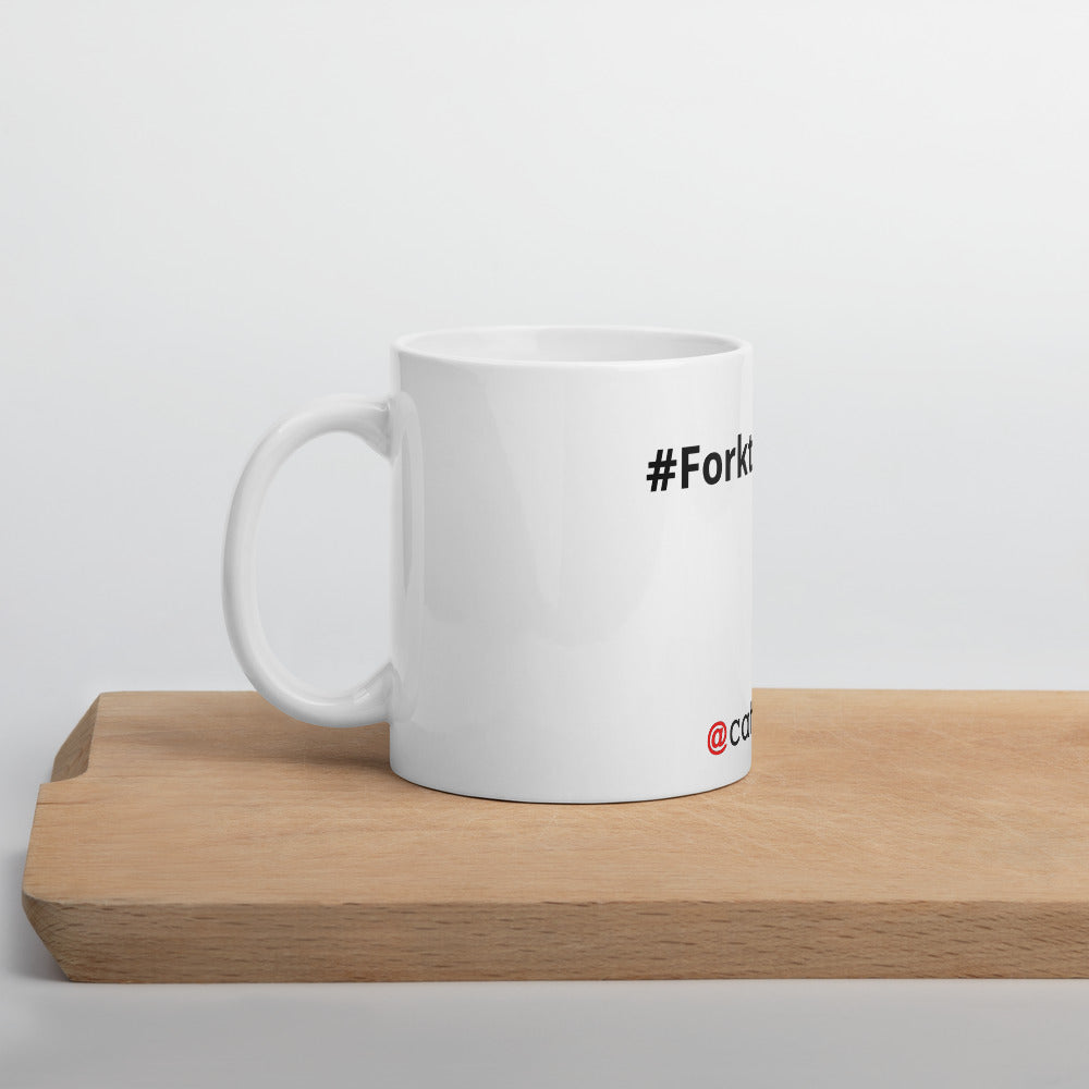 Fork the Virus Mug