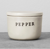 Stoneware Pepper Cellar Cream - Hearth & Hand™ with Magnolia