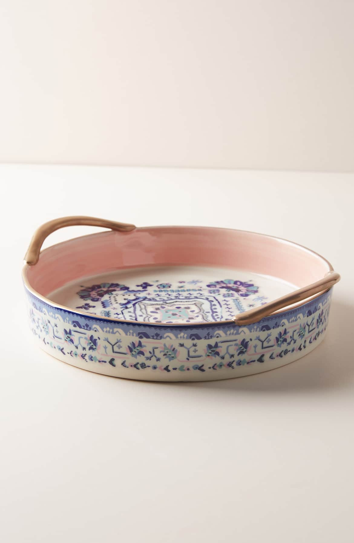 Anthropologie Lilia Pie Dish