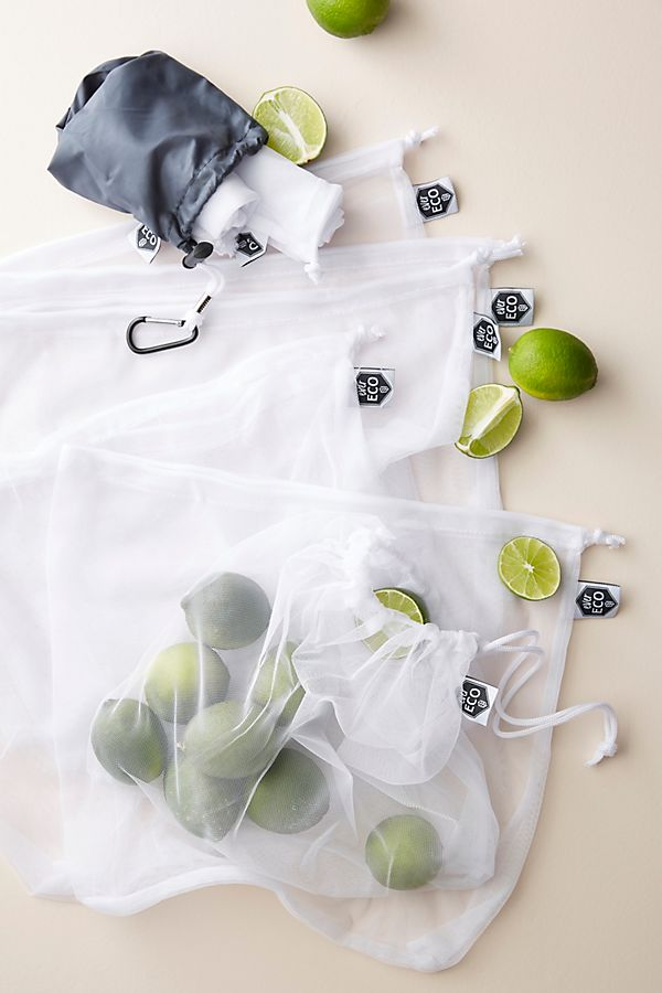 Ever Eco 8-Pack Recycled Mesh Produce Bags
