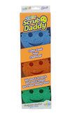Scrub Daddy Colors Sponge - 3pk