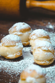 sugar cream puffs