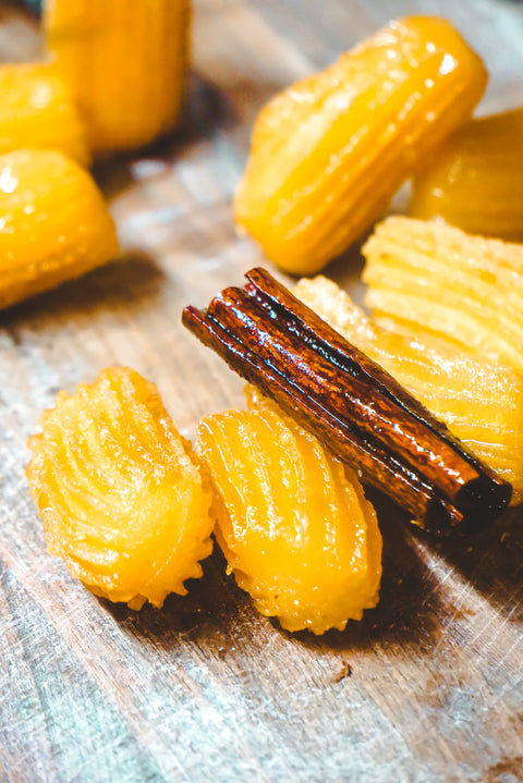 tulumbes (greek honey churro)