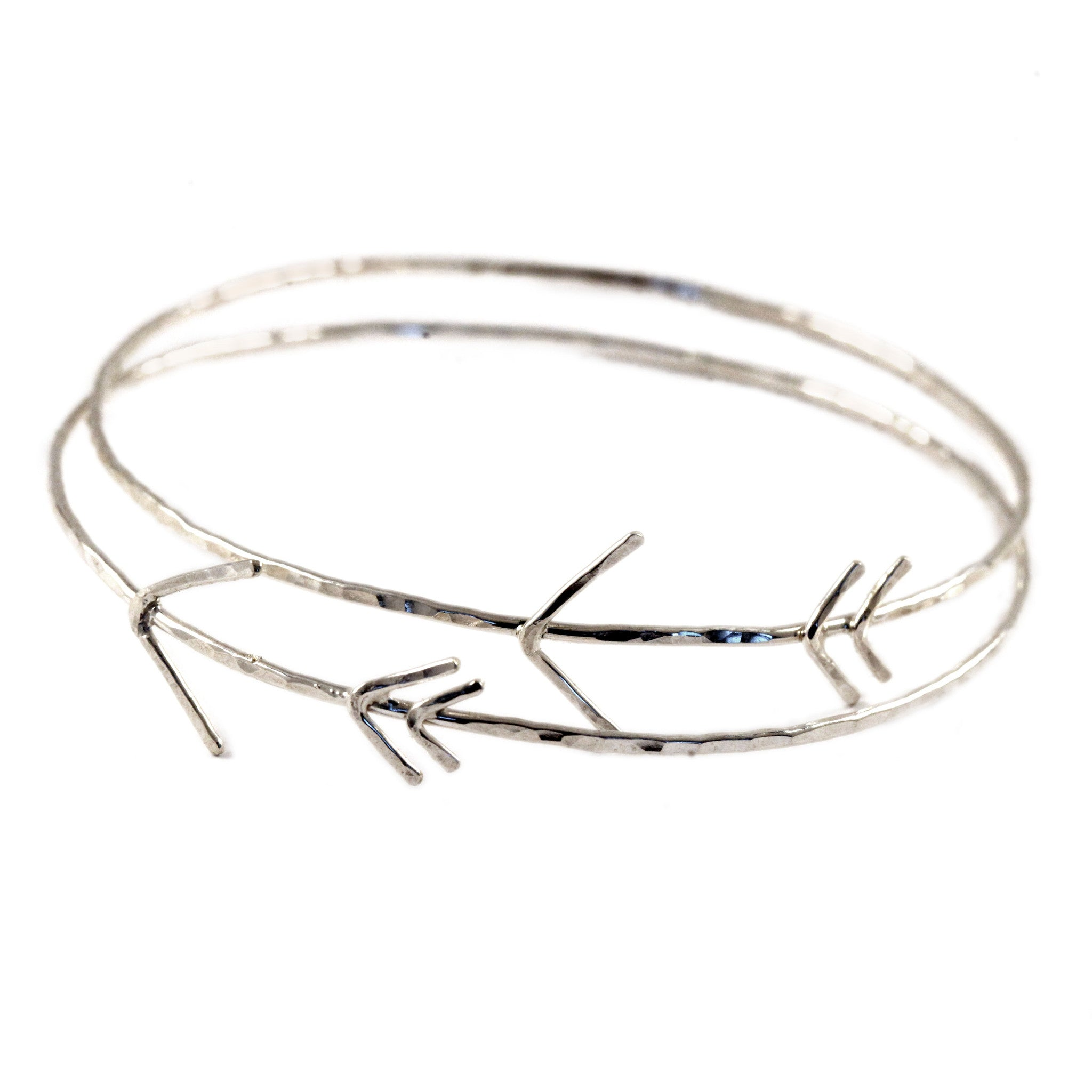 b daphne kookii arrow skinny gold bracelet simple products