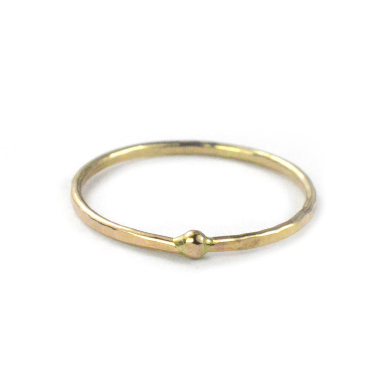 aquarianthoughts jewelry, gold skinny stacking ring