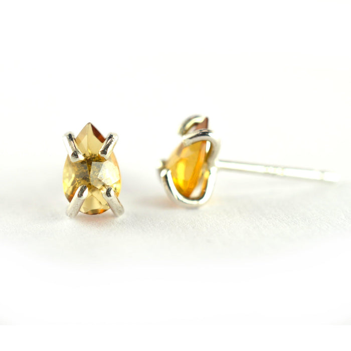 Yellow Tourmaline Earrings