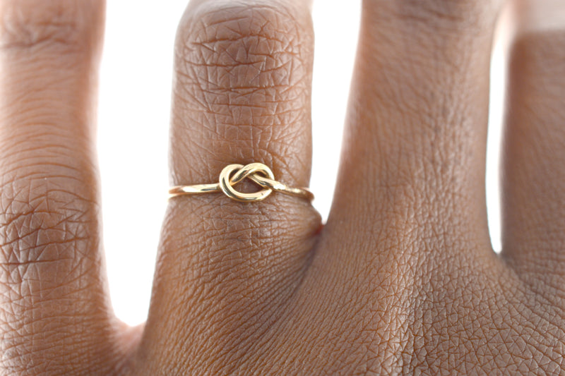 Forget Me Knot Ring