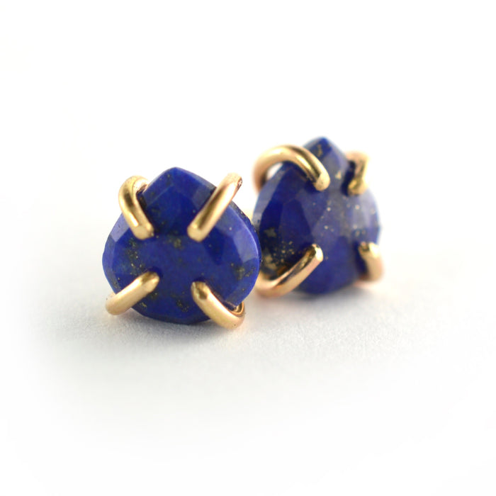 Lapis Stud Earrings