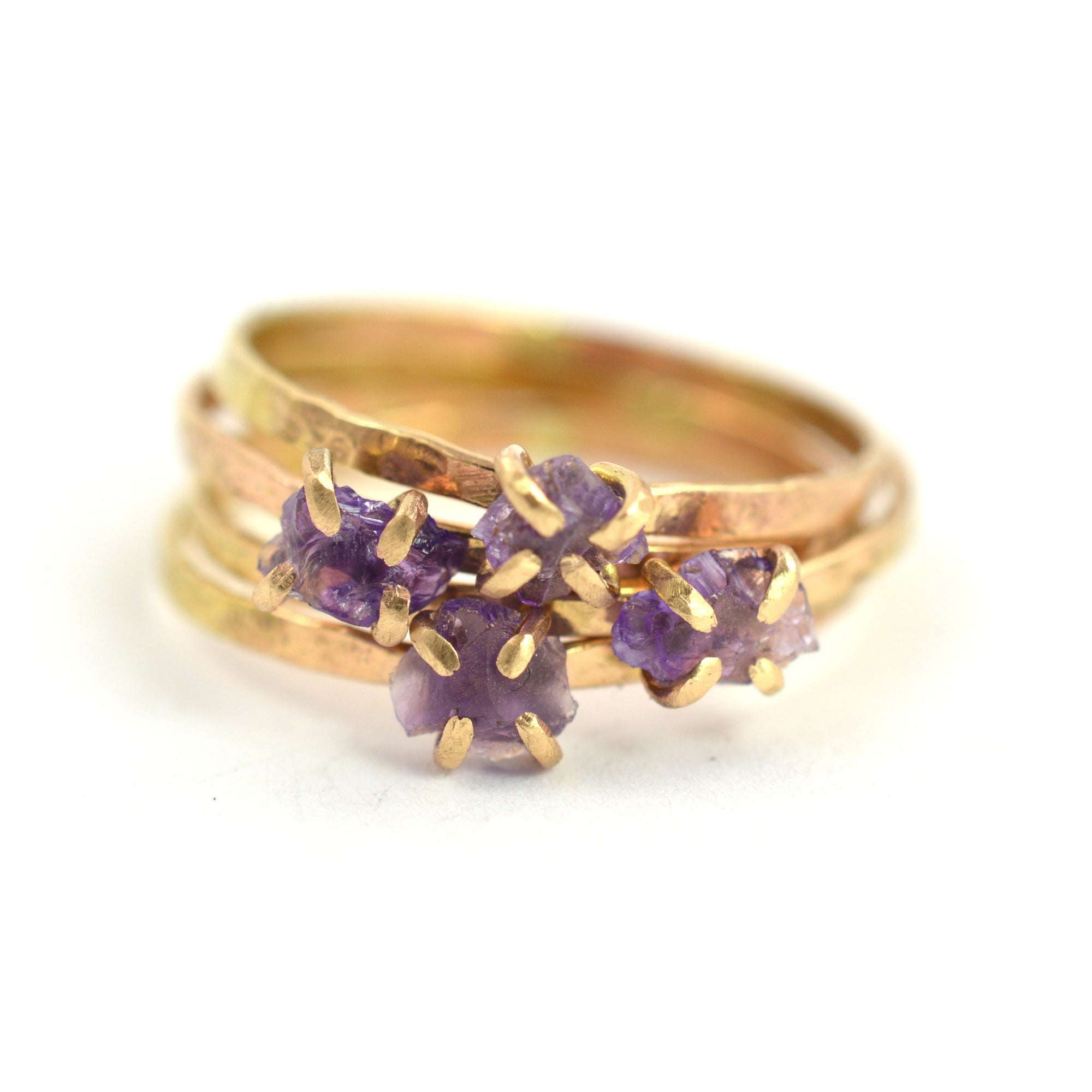 unique amethyst rings gold paolo costagli brillante rose valentina amethist an medium engagement products ring diamond