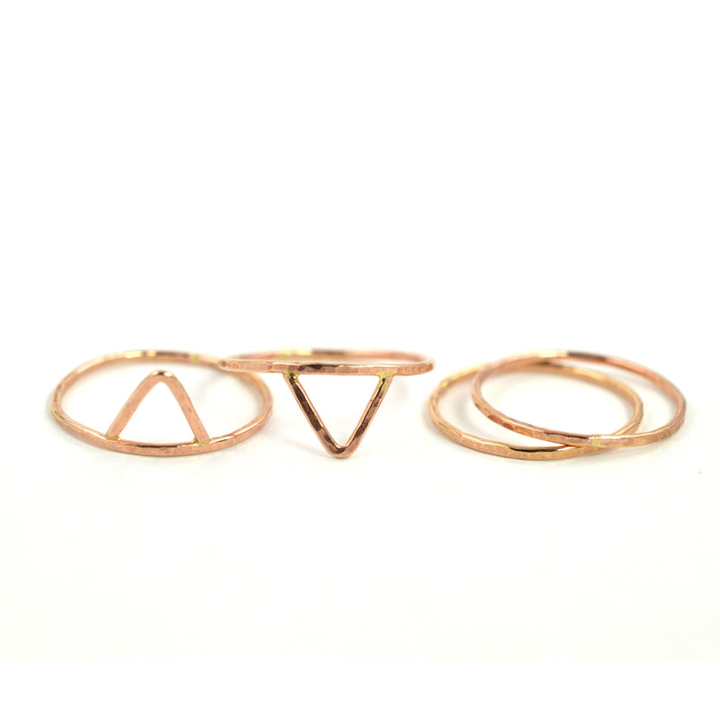 """As Above"" Stacking Ring Set"
