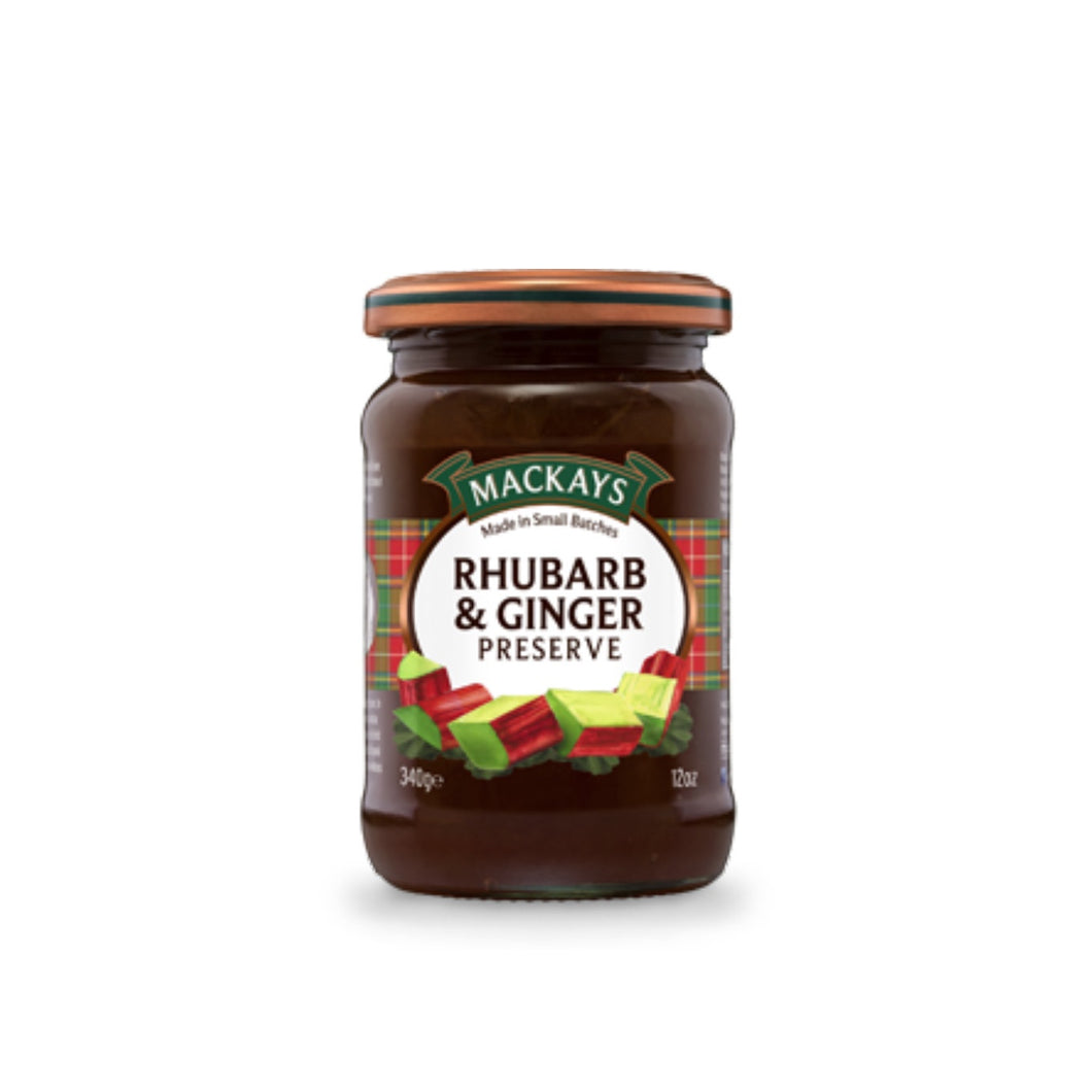 Rhubarb and Ginger Preserve