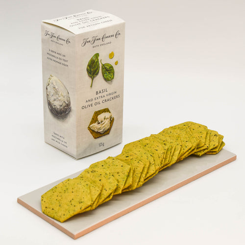 Basil & Extra Virgin Olive Oil Crackers