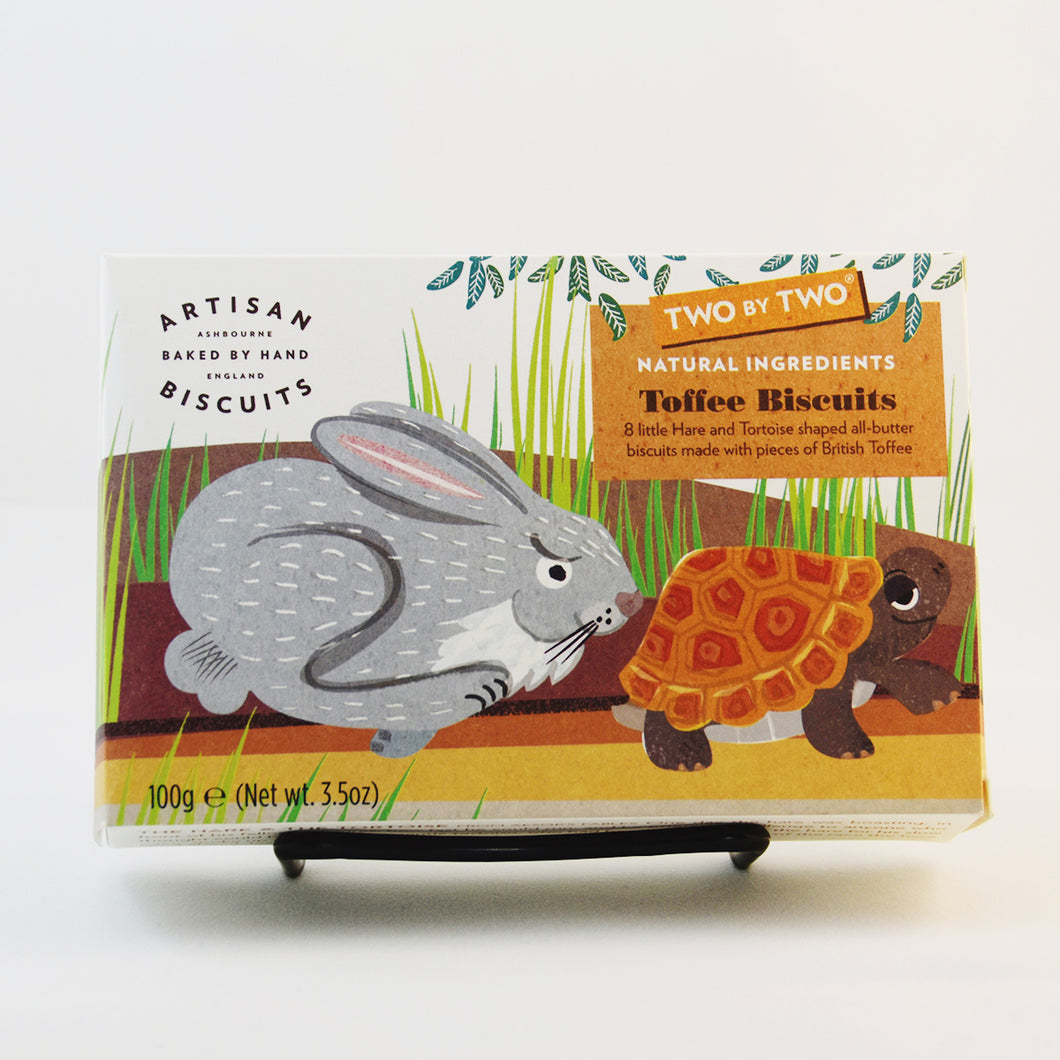 Tortoise & Hare Toffee Biscuits