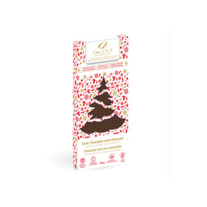 Holiday Dark Chocolate Roasted Almonds Bar