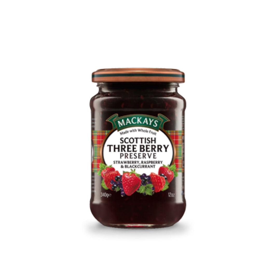 Scottish Three Berry Preserve