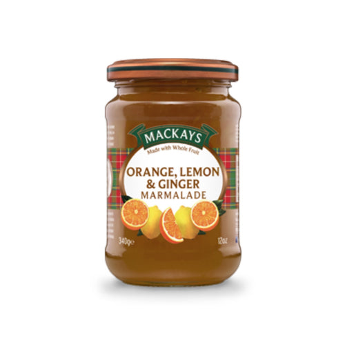 Orange, Lemon and Ginger Marmalade