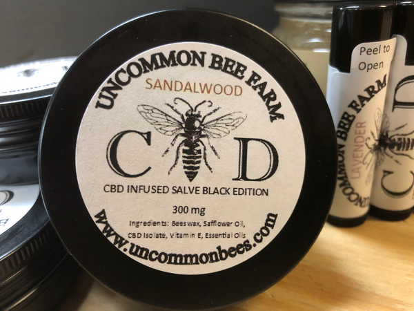 C-BEE-D Infused Salve Black Edition