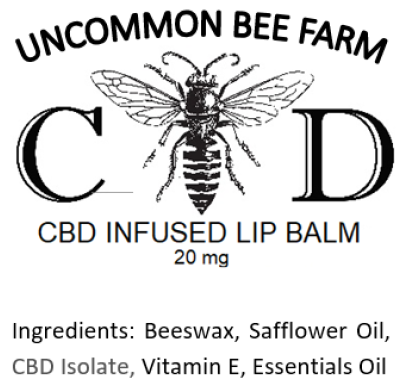 C-BEE-D Infused Beeswax Lip Balm