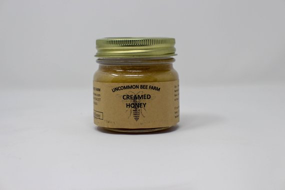 10oz Creamed Raw Unfiltered Honey