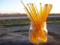 Raw Unfiltered Honey Straws, 10 Pack