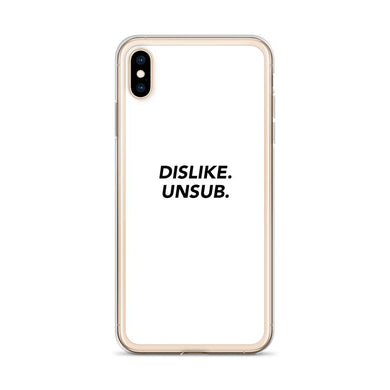 Dislike Unsub iPhone Case