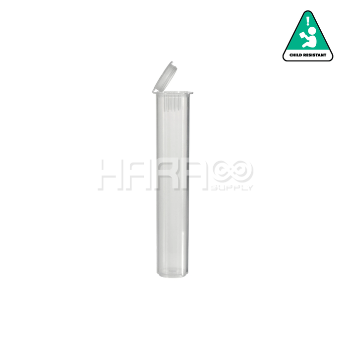 Clear Child Resistant Vape Cartridge Tube 80mm – 1000 CT