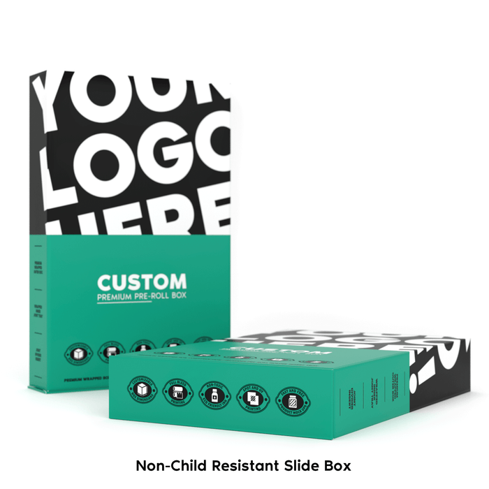 Non-Child Resistant Slide Box