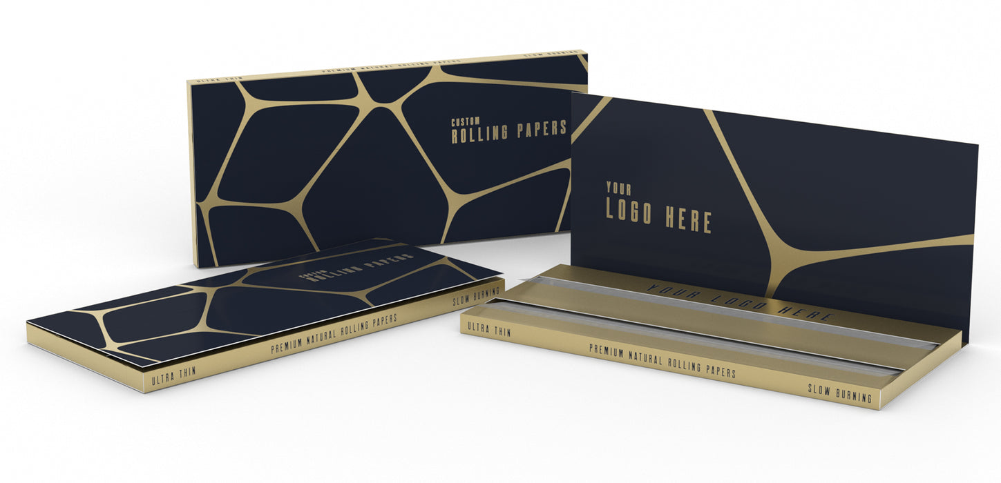 Custom Rolling Paper - Double Window Any Size