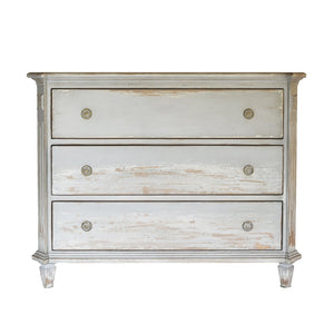 Gustavian Blu/Grey Chest of Drawers