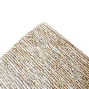 Straight-Cable Knit Rug