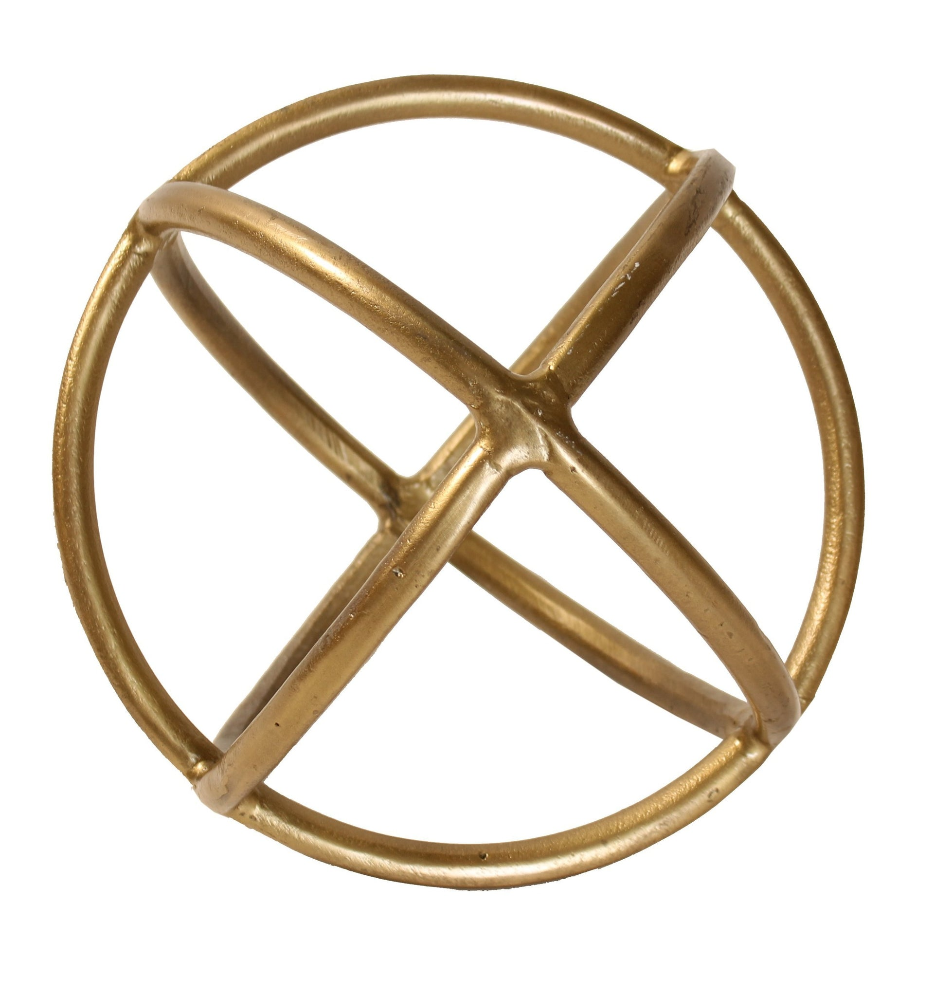 Brass Colored Sphere