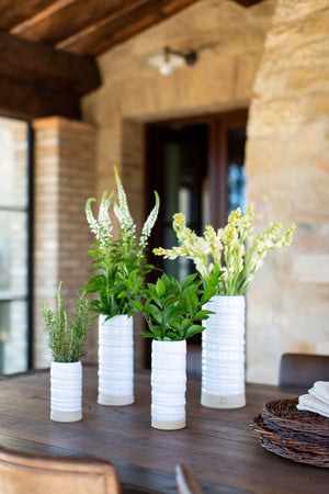Pottery Vases Styled on Tabletop