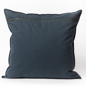Navy Vintage Wash Cotton Pillow Cover