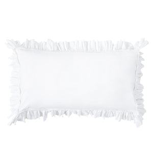 Cotton Sham with Ruffle
