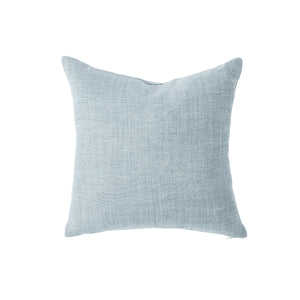 Sky Blue Linen Pillow Cover