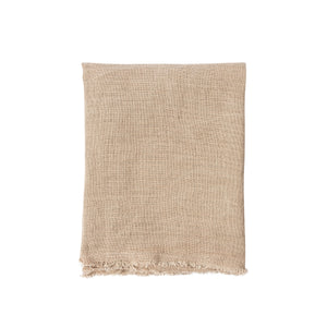 Light Pink Linen with Soft Frayed Edge