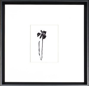 Single Flower Black