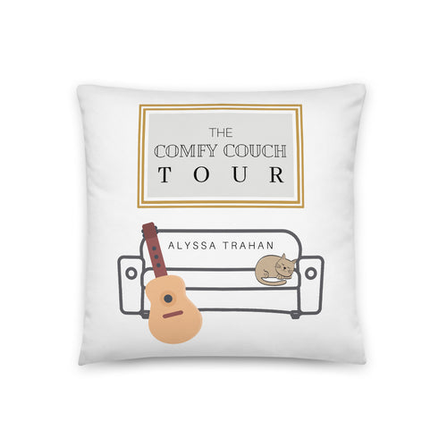 Comfy Couch Tour Pillow