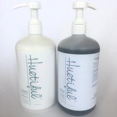 Huetiful Salon Bundle: Activated Charcoal Shampoo & Hydrating Conditioner