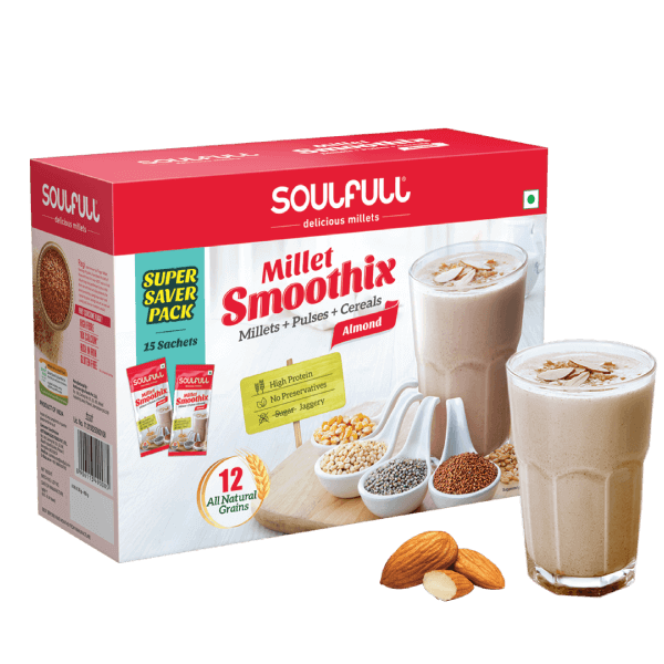 Smoothix - Almond | 15 Sachets