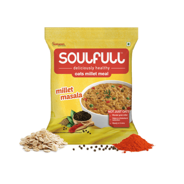 Oat Millet Meal - Masala (Pack of 12) | 420g