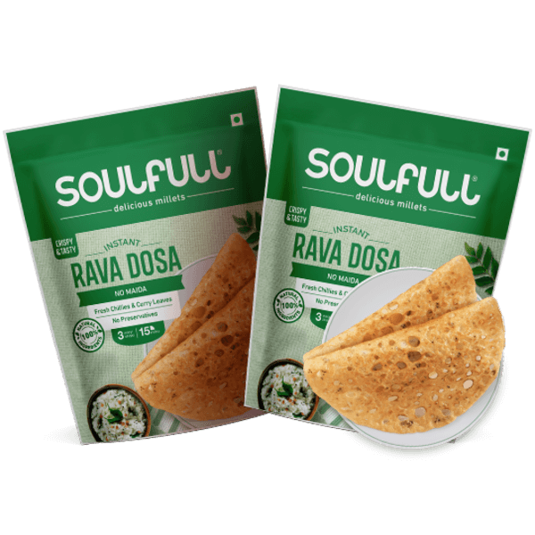Rava Dosa 500g | Pack of 2 (1 kg)