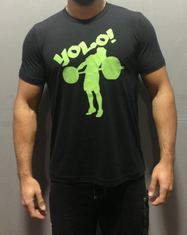 Men's Black YOLO Tee