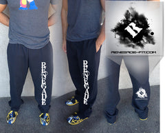 Black Renegade Sweat Pants (WITH Pockets)