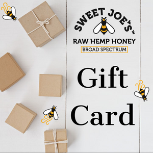 hemp honey gift card