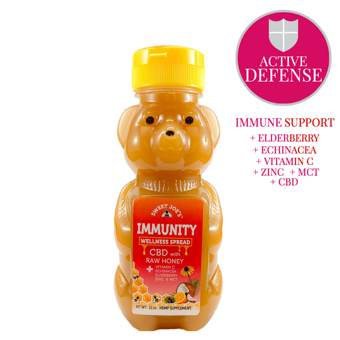 cbd immunity honey bear