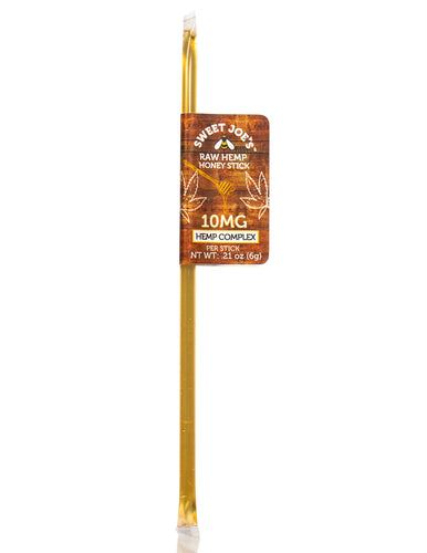 Raw CBD Hemp Honey Stick