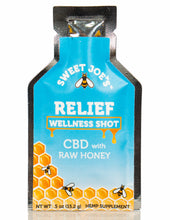 Load image into Gallery viewer, CBD Relief  Honey Wellness Shots for sale