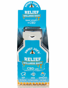 CBD Relief Honey Wellness Shots for sale